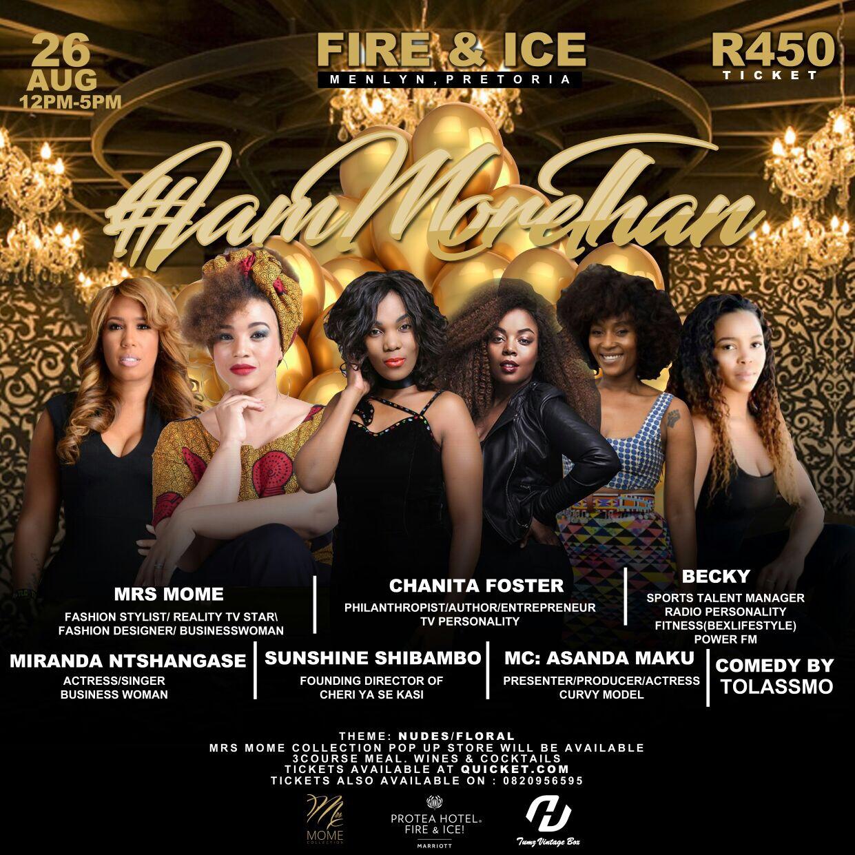 Fire & Ice Poster | Miranda Mokhele Ntshangase Music